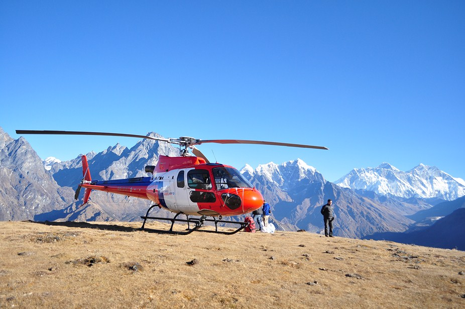 Image result for Syangboche Panoramic Heli-Sightseeing