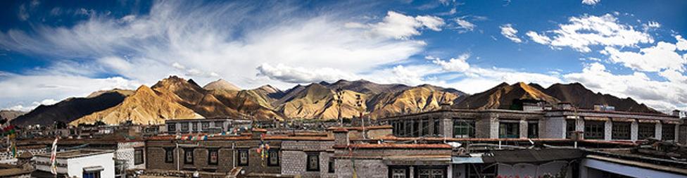 Lhasa Panorama